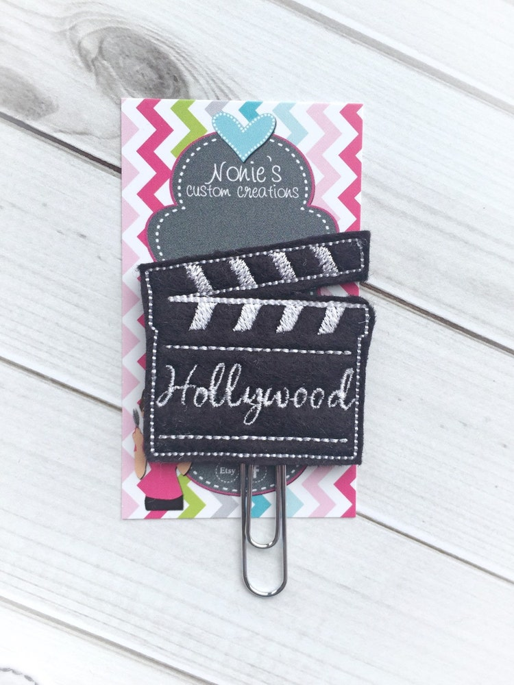 hollywood paper clip movie paperclip by noniescustomcreation