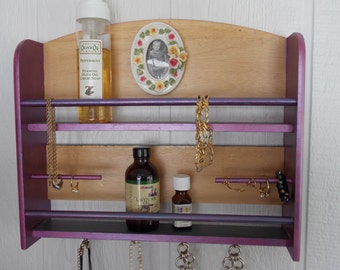 PHOTO JEWELRY ORGANIZER      Replacement Picture    Handpainted Porceline Frame       Perfume Organizer   Essential Oils Storage