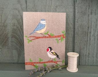 Barden Birds Greetings Card