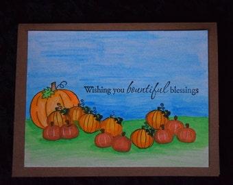 Bountiful Blessings Card