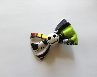 Nightmare Before Christmas Bow