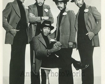 Blue Magic R&B soul music band singers vintage photo