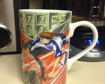 Konitz Tennis Porcelain Coffee Mug