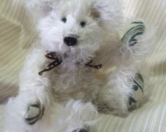 "Dori - Miniture 5"" Cream Mohair Teddy Bear"