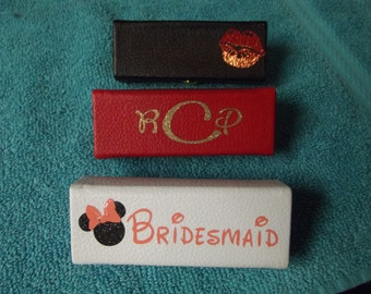lipstick cases, with mirror inside