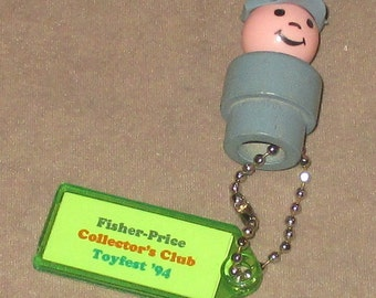 Fisher-Price Little People Postman Keychain figure