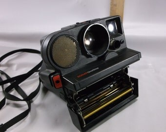 Polaroid  Camera Vintage Pronto One Step Sonar Land Camera  Black  .Not Tested epsteam