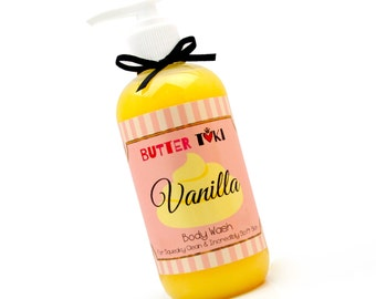 VANILLA Cake Moisturizing Body Wash 8oz