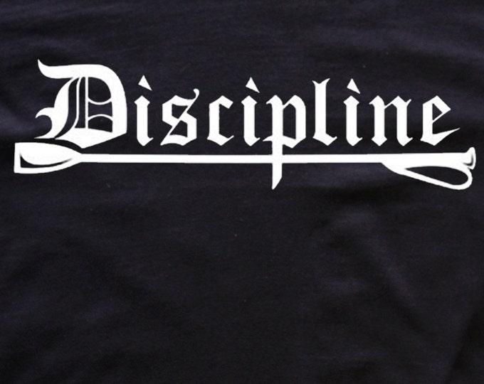 Discipline T-shirt bdsm/fetish tees