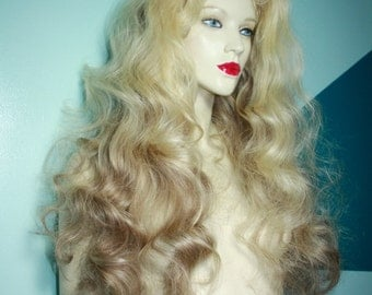 Silk Top Remy Remi Full Lace Wig 100% Human Indian Hair #613/11 Blonde select Length and Texture