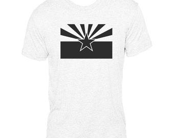 Arizona State Flag (Black) - NLA Heather White