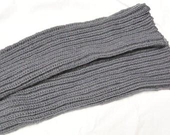 Legwarmers Leg warmers handknitted grey
