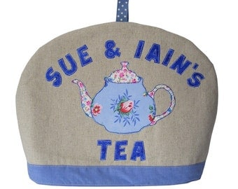 Personalised Tea Cosy - Teapot Cosy - Tea Cozy