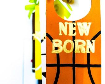 Baby Closet Dividers - Nursery Closet Organizer - Baby Closet Organizer - Wood Closet Dividers - Sports Theme Nursery - Boys Nursery
