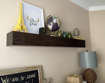 Small floating shelf.