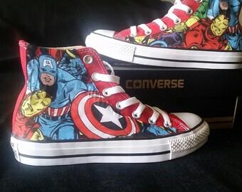 Avengers Custom Converse
