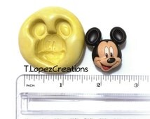 Disney MICKEY MOUSE MOLD: for resin, food, soap, wax, clay, and more!