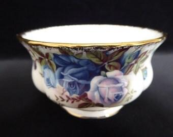 Vintage Royal Albert MOONLIGHT ROSE  Open Sugar Bowl Circa 1960s