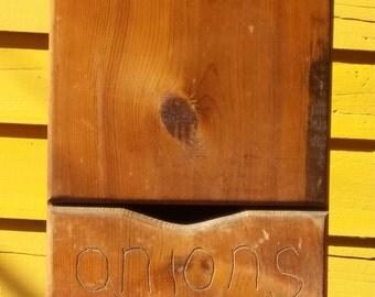 1979 Potato and Onion box