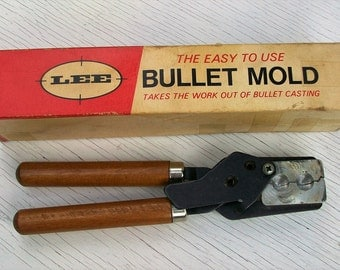 Vintage LEE Double Cavity R*E*A*L* Bullet Mold 54Cal 300 gr. Mold No. 54CAL300