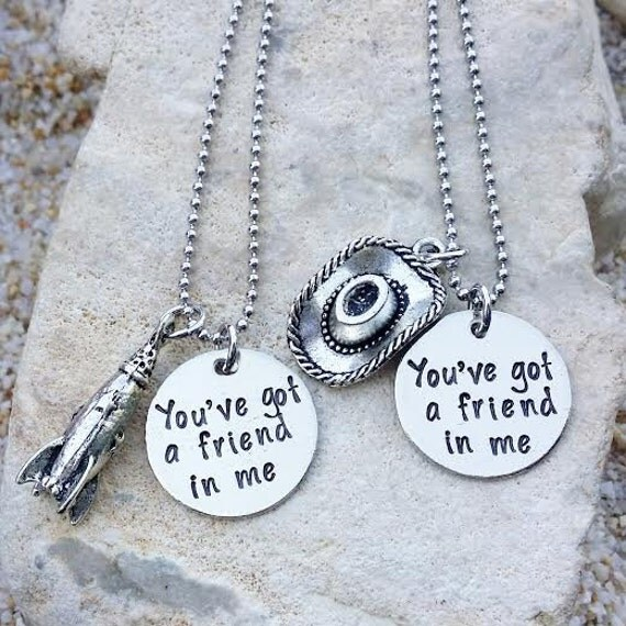 Friendship Quotes Jewelry: SALE Jewelry Necklace Disney Necklace Best Friend