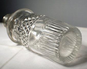Antique Sugar Shaker/Muffiner w/Silver Top, Unmarked/Valentine Sale was 32.00