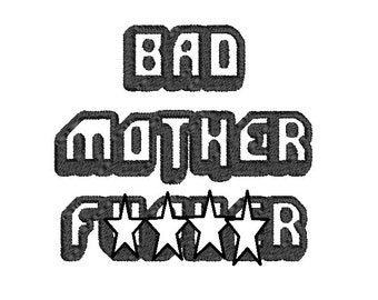 Bad Mother Pulp Fiction Wallet  Dice Bag or Pouch
