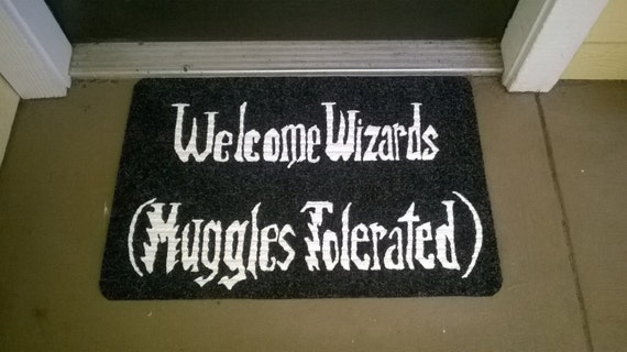 Welcome Wizards Muggles by NerdPhrases