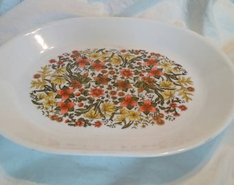 On Reserve 2 On Sale Corelle Indian Summer Oval Serving Platter Vintage Kitchen Collectible Tray