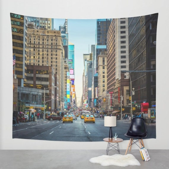 New York City Wall Tapestry New York City Wall Decor New