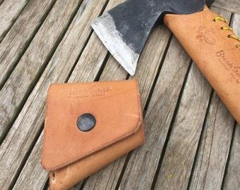 Gransfors Bruks Wildlife Hatchet Custom leather sheath M3