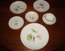 SOLD Sango Palm Springs Large 51 Pc Set of White China Dishware