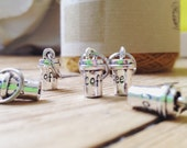 Coffee cup stitch markers