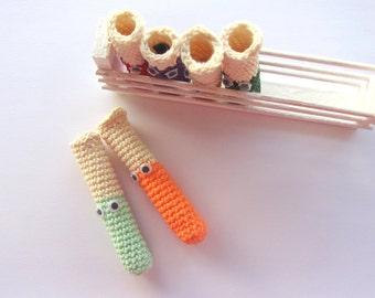 TEST TUBES  AMIGURUMI Pattern/ Crochet Pattern/ Chemistry Instruments