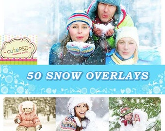 50 Snow Overlays - CPZ118