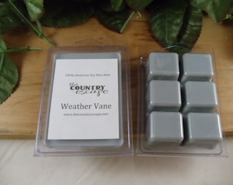 Weather Vane Scented 100% Soy Wax Melt - Clean after the rain scent - Maximum Scented