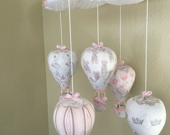 Hot Air Balloon Crib Mobile