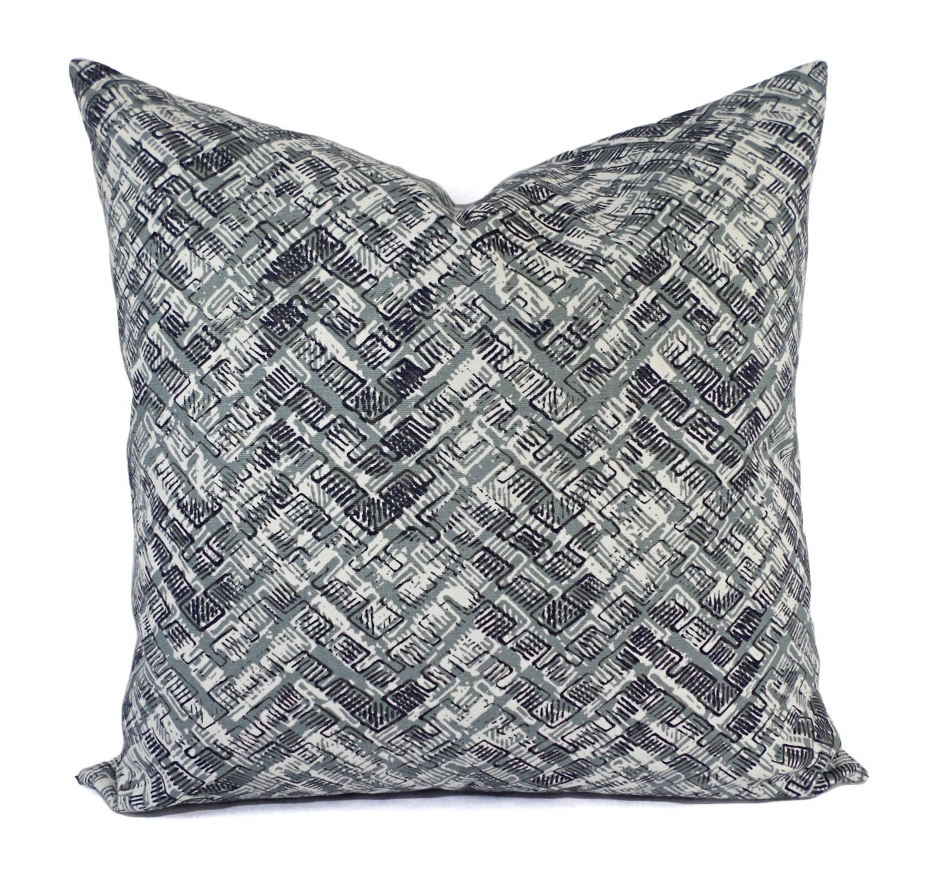 Two pillow covers grey and brown throw pillows modern for Brown and gray throw pillows
