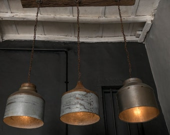 rustic industrial lighting. galvanized lighting fixture chandelierrustic industrial light home bar rustic