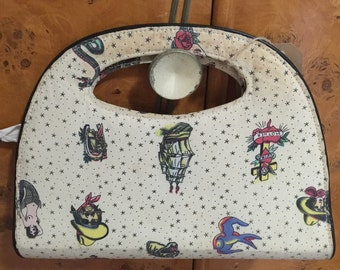 Tattoo Print Kustom Kulture Rockabilly Purse