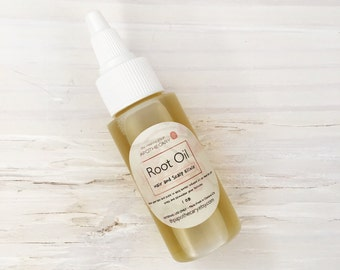 ROOT OIL, Travel Size Products, Natural Hair Care, Beard Oil, Travel Toiletries, 1oz