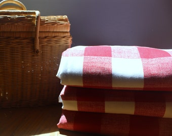 Waterproof Picnic Blanket-Gingham Choose your color