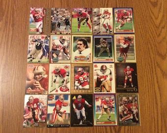 100 San Francisco 49ers Football Cards