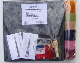 Needle Felting Starter Kit, Manitoba, Canada