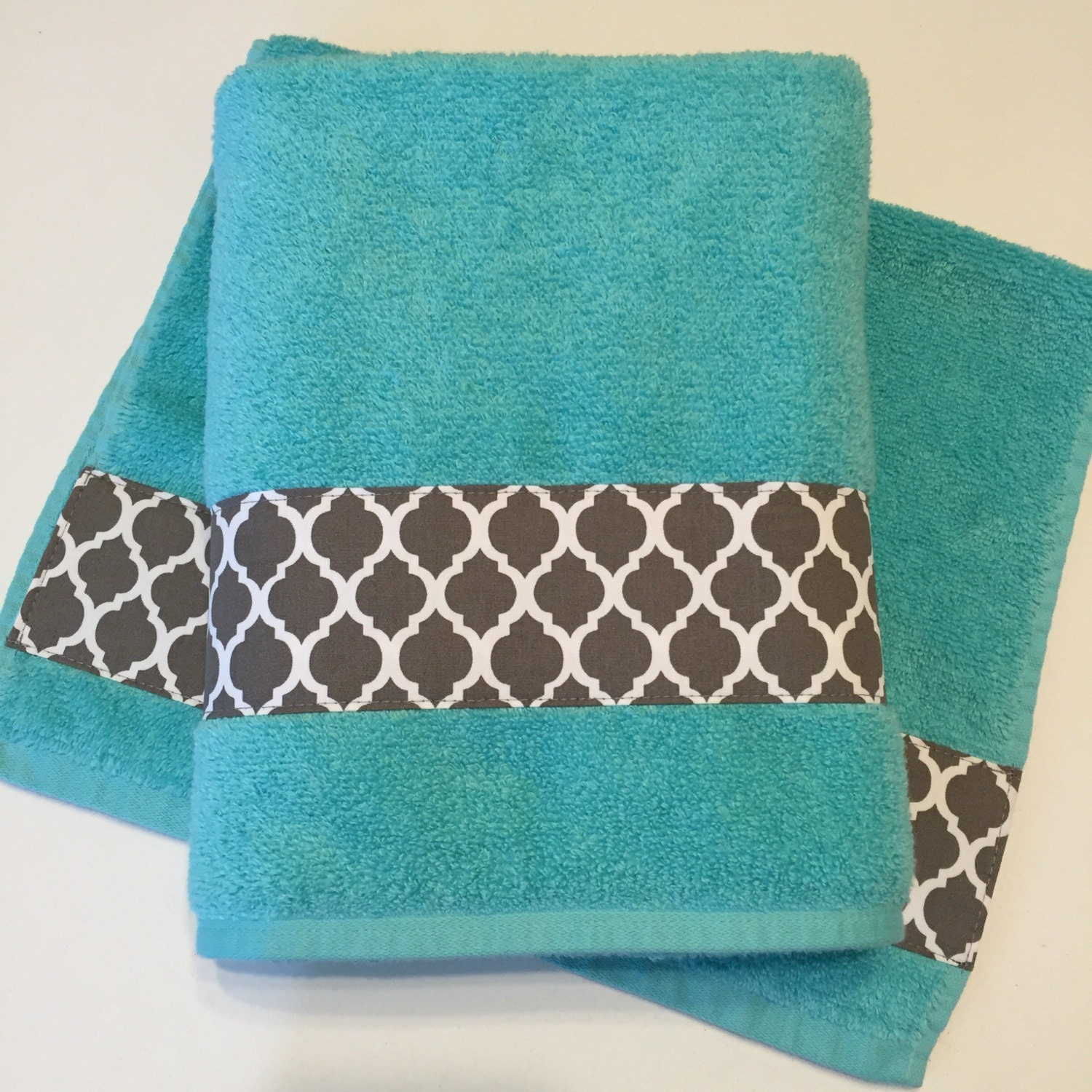 Hand Towels Bathroom: Grey Aqua Bath Towels Bathroom Towel Bath Towel Hand Towel