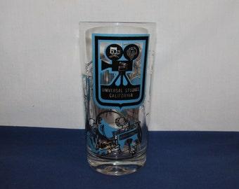 UNIVERSAL STUDIOS Souvenir Glass
