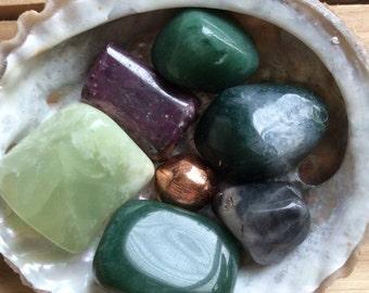 Lucky Stones, Healing Stones, Spiritual Stones, Meditation, Tumbled stone