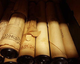 1920-1930 Song-Rolls for Vintage Piano Player
