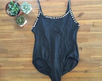 80s Dancewear Costume Bodysuit