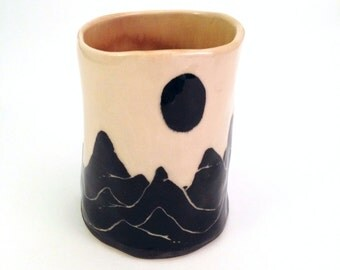 Moon over Mountain Cup